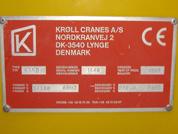 Kroll Number plate